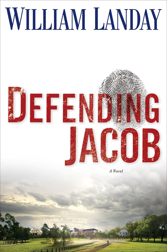 """The cover jacket of """"Defending Jacob"""" is shown in this undated photo released to the press on Feb. 8, 2012. The novel is by William Landay. Source: Random House via Bloomberg EDITOR'S NOTE: NO SALES. EDITORIAL USE ONLY."""